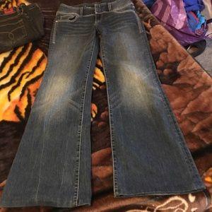 Seven Jeans Flare Wide Leg Size 27